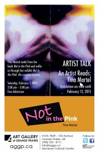 Tina Martel Artist Talk Poster 02